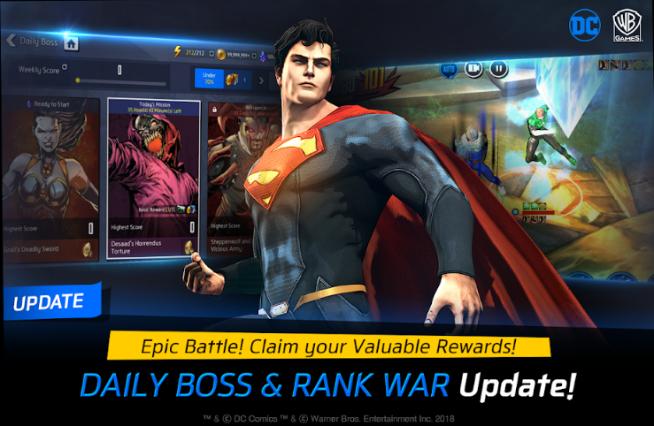 DC Unchained Update