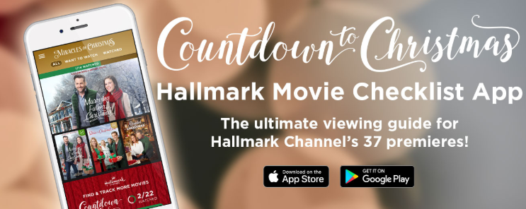 Countdown To Christmas Hallmark App