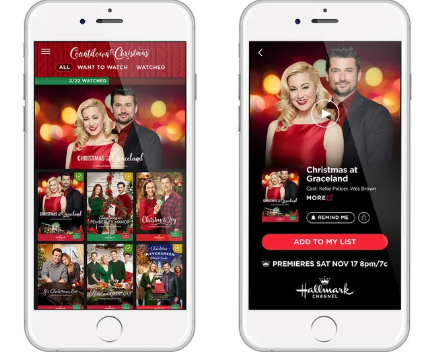 Install Countdown To Christmas Hallmark App