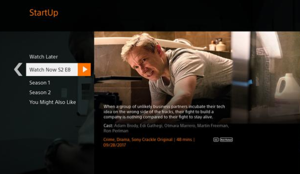 Install Crackle APK