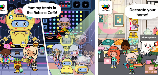 Toca Life Neighborhood Game
