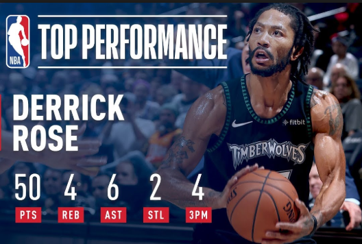 Derrick Rose 50 Point Game Highlights