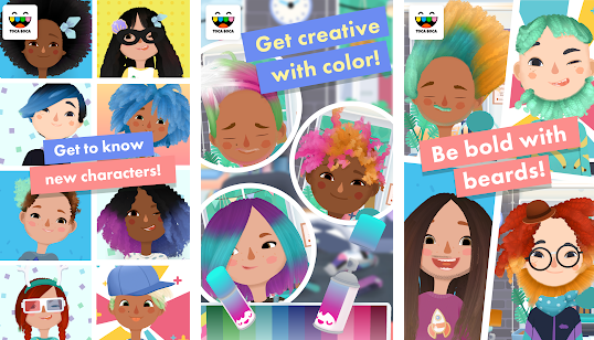 Get Toca Hair Salon 3 Free
