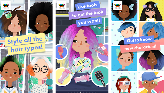 Toca Boca Hair Salon 3 APK