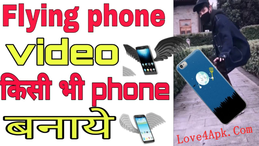 Flying Phone Throwing Video Editor App