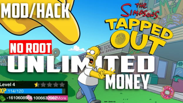 The Simpsons Tapped Out Mod & Hack Apk