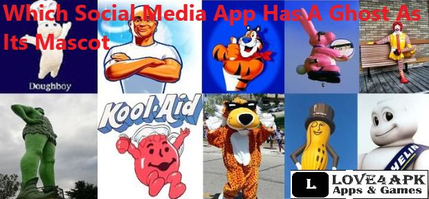 Which Social Media App Has A Ghost As Its Mascot?