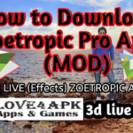 Zoetropic Pro Apk [2019 Mod Version] For Android, iOS, iPhone & iPad