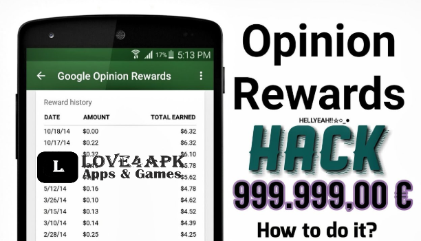 Google Opinion Rewards Hack Apk