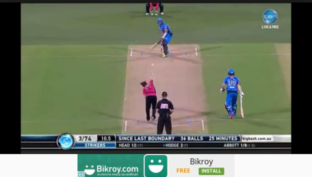 Crictime Live Cricket Streaming Apk