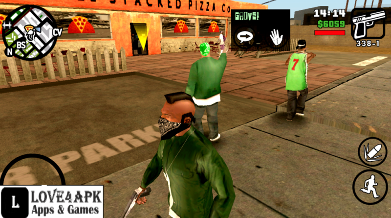GTA San Andreas Ocean Of Apk
