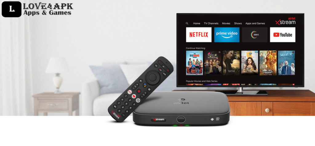 Airtel Xstream Apk For Android TV