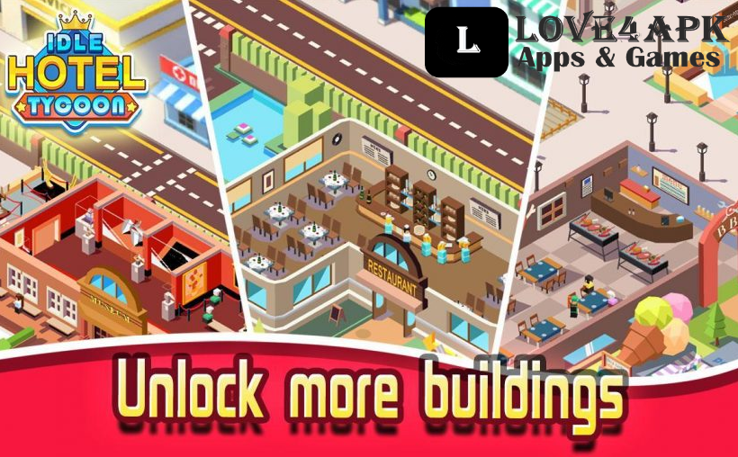 Hotel Empire Tycoon Mod Apk Unlimited Money