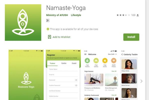 Namaste Yoga App Launched By